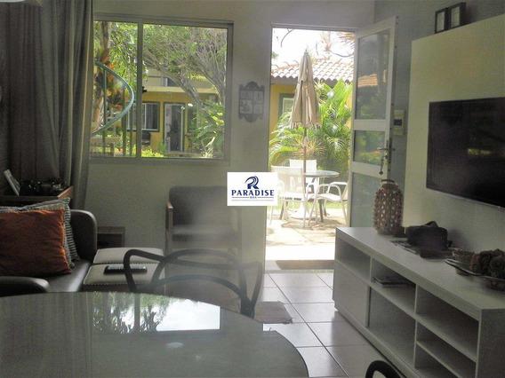 Apartamento Com 2/4 No Cond. Costa Smeralda Em Guarajuba - V68400