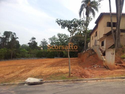 Terreno Em Condomínio, Condomínio Vintage, Chácaras São Carlos, Cotia/sp - 2358