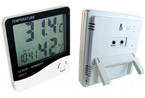 Termometro De Pared Digital -control De Humedad - Alarma