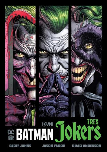 Imagen 1 de 1 de Cómic, Dc, Batman: Tres Jokers Ovni Press