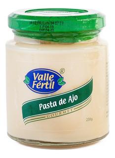Pasta De Ajo Valle Fertil 230 Grs X 8 Frascos