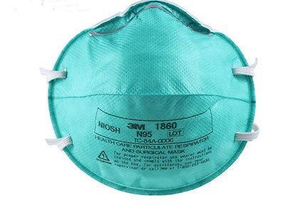 1860 Reg 20-3m Caja De Médico Tamaño N95 Másca Respirador
