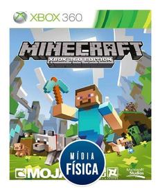Jogo Minecraft - Xbox 360 [ Mídia Física E Original ]
