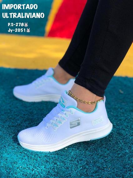 Zapatos Deportivos Skechers Para Damas Ultralivianos