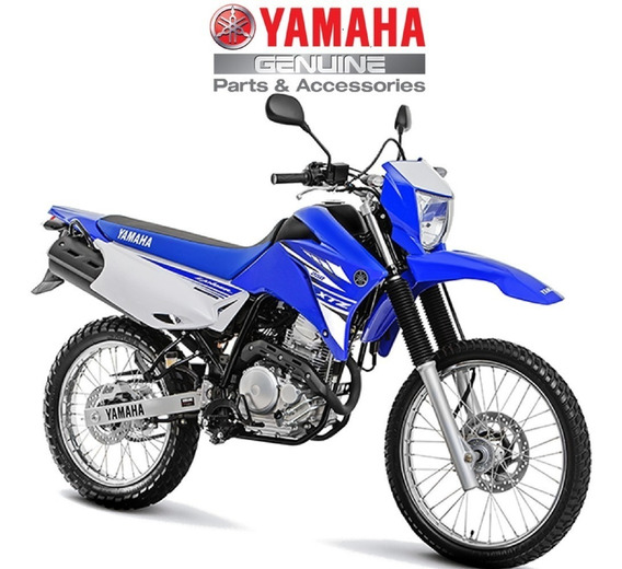 Kit Carenagem Xtz 250 Lander Azul Original Yamaha
