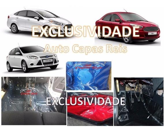 Tapete Verniz Assoalho Para Fiesta,ford Ka+,new Fiesta,focus