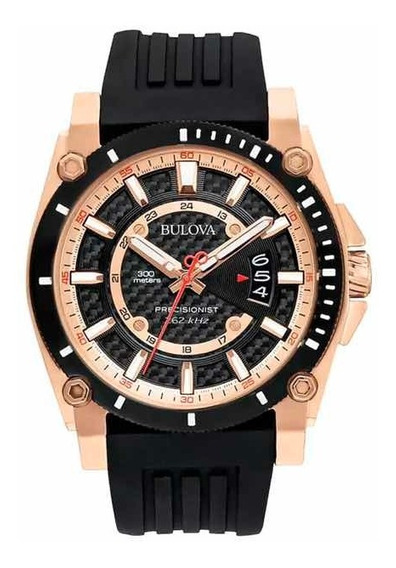 Relógio Bulova Precisionist 98b152 Original Watch Station