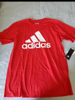 T Shirts adidas Originales Rojo Size LGris Size S
