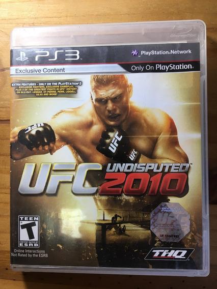 Ufc Undisputed - 2010 - Ps3 - Jogos