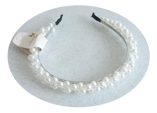 Diadema De Perlas Tejidas Para Mujer/ Accesorio Cabello