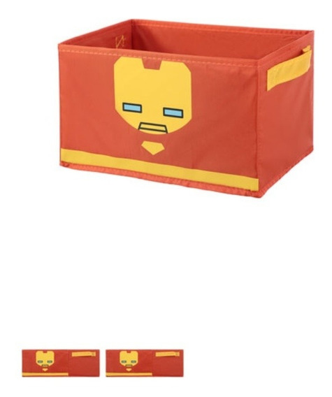 Caixa Organizadora Dobrável Marvel Miniso - Homem De Ferro