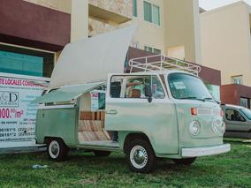 Volkswagen Combi Modelo 1981 Adaptada Food Truck O Viaje