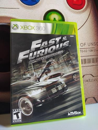 Fast & Furious Showdown Xbox 360 Original Físico Usado