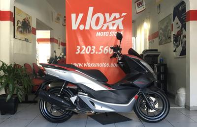 Honda Pcx 150 Sport Cinza 2018