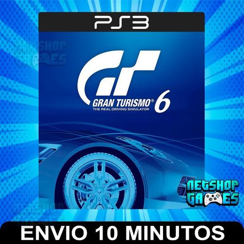 Gran Turismo 6 Gt 6 - Ps3 Digital - Español - Entrega Rápida