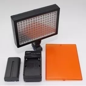 Luz Iluminador Led-1600 Profissional Para Filmadora