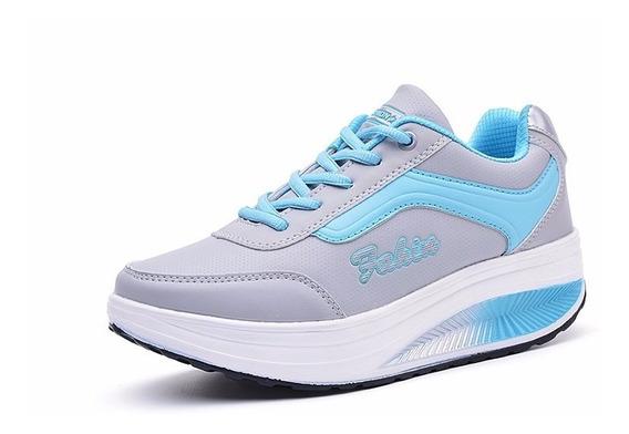 Tennis Step Caminar Zapatos Pie Plano Gym Bajar Peso