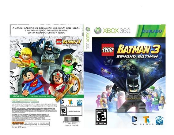 Lego Batman 3 Pra Xbox 360 ( Atenção ) (ler Descrição)