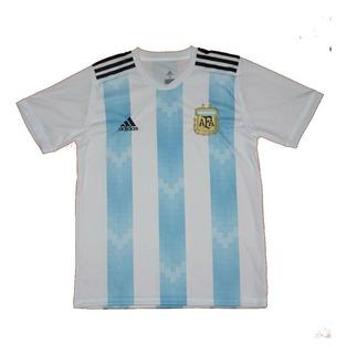 Camiseta Seleccion Argentina Para Adultos (mundial 2018)