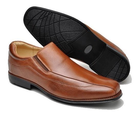 Sapato Social Masculino Em Couro Forro Couro Tamanhos 46,49