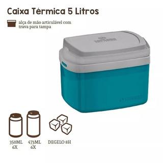 Caixa Térmica Tropical 5 Litros - Soprano