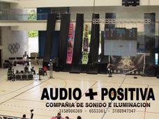 Audio E Iluminacion Eventos Pantallas Proyectores Efectos