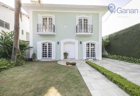 Casa Com 4 Dormitórios À Venda, 390 M² Por R$ 5.050.000 - Jardim Paulistano - São Paulo/sp - Ca0343
