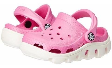 Crocs Duet Sport Clog Rosa Blanco Envios A Todo El Pais