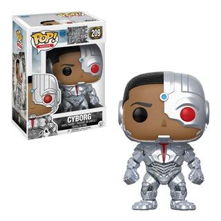 Figura Funko Pop Liga De La Justicia - Cyborg 209 Edu
