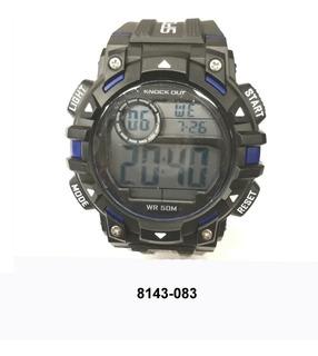 Reloj Knock Out Hombre Digital 8143 083 Sumergible Alarma