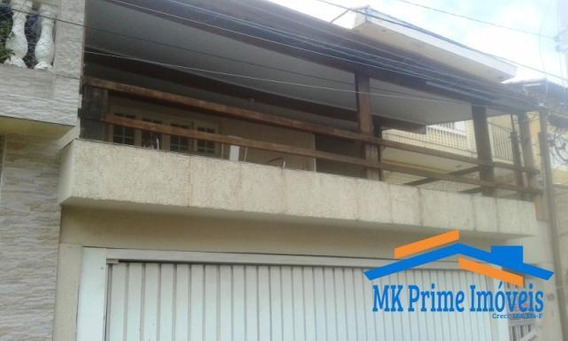 Casa Assobradada Na Vila Militar - Próximo A Autonomistas. - 399