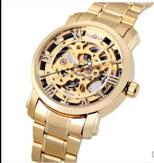 Relógio Winner Mecanico Unissex Original