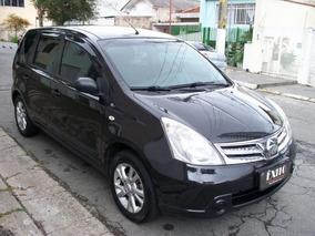 Nissan Livina S 1.8 Flex Automatica Preta 2013