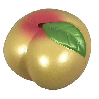 Jumbo Peach Squishy I Love Peach Serie 3 Color Amarillo