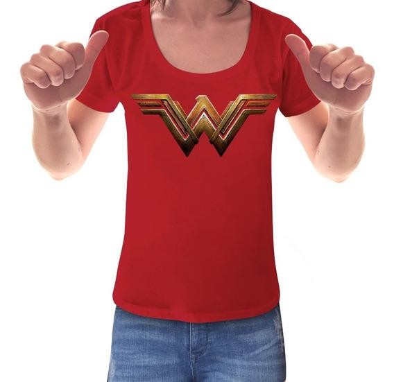 Remeras Mujer Maravilla Wonder Woman Comic Mujer