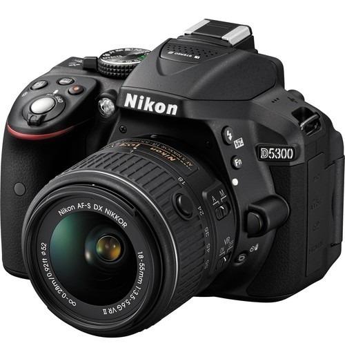 Camara Nikon D5300 18-55 Vr Ii Kit Nueva Garantia