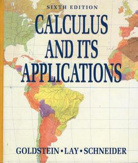 Calculus And Its Application 6a Edition