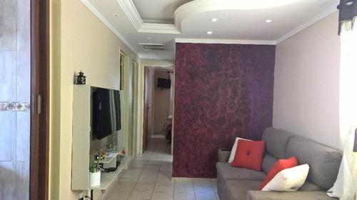 Apartamento Com 3 Dormitórios À Venda, 75 M² Por R$ 260.000,00 - Jardim Aurélia - Campinas/sp - Ap5857