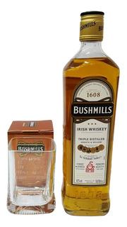 Whisky Bushmills Con Vaso Whiskey Irlandes Envio Gratis