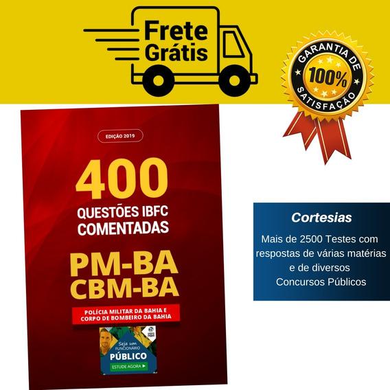 Apostila Livro De Teste Pm Ba E Cbm Ba - 400 Questões