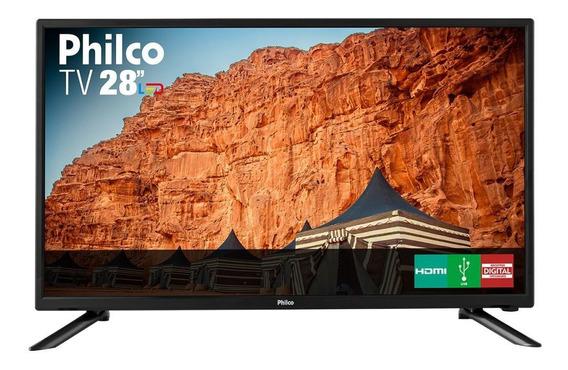Tv Led Hd 28 Hdmi/usb Philco Bivolt Ph28n91d