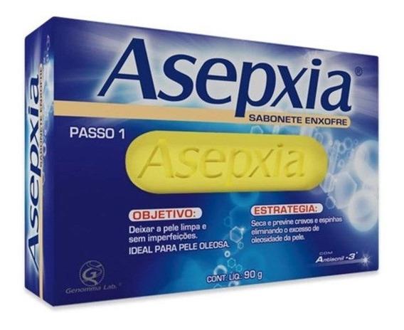 Sabonete Asepxia Enxofre Ação Antioleosidade 80g