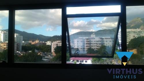 Imagem 1 de 11 de Sala Comercial Na Freguesia - Rua Tirol - Loc560
