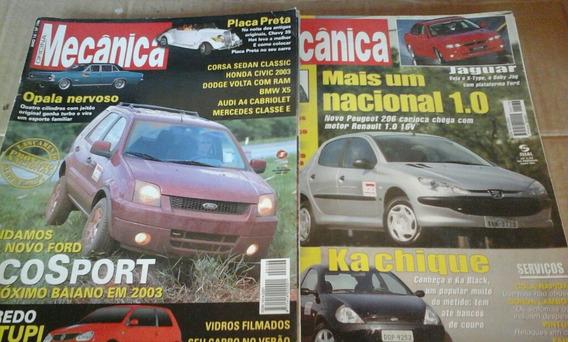 Revistas Oficina Mecânica Lote Com 7 Exemplares