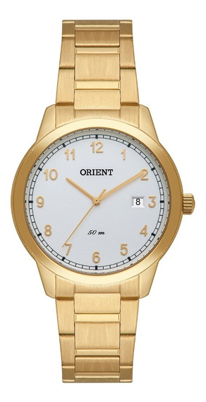 Relógio Orient Feminino Fgss1181 S2kx Dourado Analogico