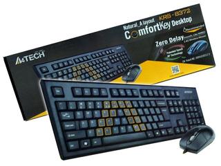Teclado + Mouse A4tech