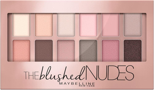 Paleta Sombras Ojos The Nudes Maquillaje Maybelline