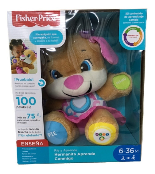 Perrita Hermanita Aprende Conmigo Fisher Price