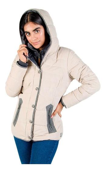 Chamarra Mujer Greenlander Pol5924 Invierno Bolsillo