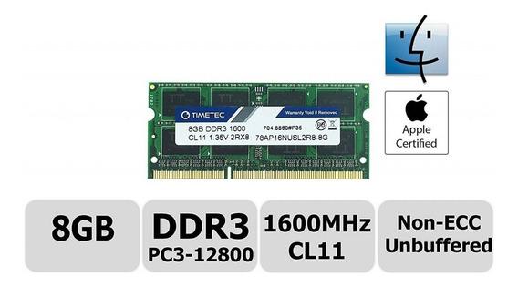 Memoria Ram 8gb 1600 Macbook Pro 2012 A1278 A1286